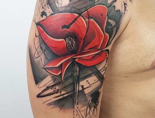 #TARTA – Watercolor Tattoo – Tatuaggi Full Color – Taxi Tattoo Torino
